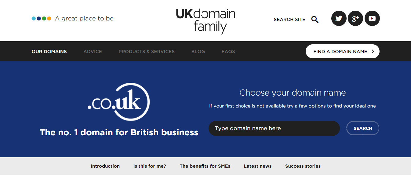 Dot UK Domain Family