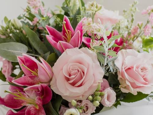 Tiger Lily Flowers Website Design